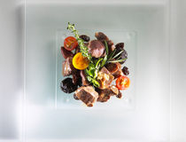 Beef food dish Stock Images