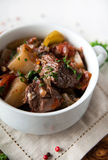 Beef and Golden Beets Stew Stock Photography