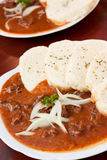 Beef Goulash And Dumplings Royalty Free Stock Photography