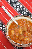 Beef Goulash with beans Royalty Free Stock Images