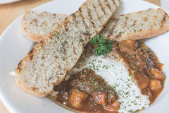 Beef Goulash.  close up Royalty Free Stock Images