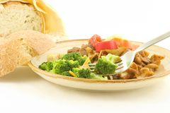 Beef Goulash - leftovers Royalty Free Stock Image