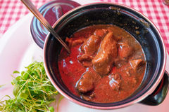 Beef goulash Stock Photography