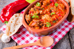 Beef goulash Stock Image