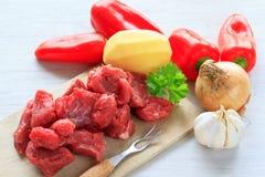 Beef goulash Royalty Free Stock Photo