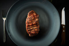 Beef grilled steak Stock Images