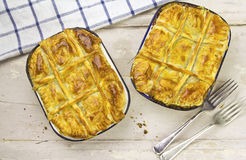 Beef Guinness Pies Royalty Free Stock Photography