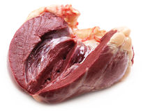 Beef heart Stock Photography