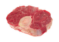 Beef hind shank steak Royalty Free Stock Photo