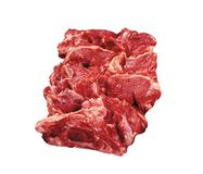 Beef isolated on white royalty free stock image