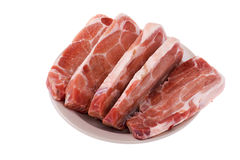 Beef isolated on white Stock Image