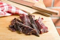 Beef jerky Stock Photography