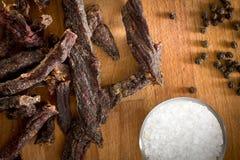 Beef jerky Royalty Free Stock Photo