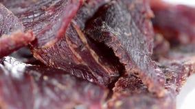 Beef Jerky (loopable) Stock Photo