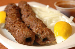 Beef kabobs Stock Photos