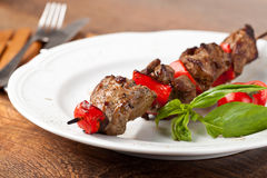 Beef Kebab Stock Image