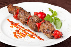 Beef Kebab Stock Photos