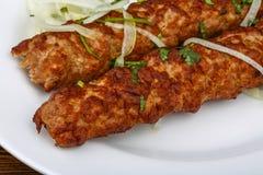 Beef kebab Royalty Free Stock Photo
