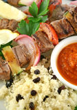 Beef Kebabs 11 Royalty Free Stock Photography