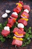 Beef kebabs Stock Photos