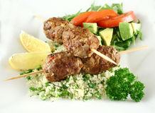Beef Koftas Royalty Free Stock Photos