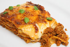 Beef Lasagna Royalty Free Stock Photo