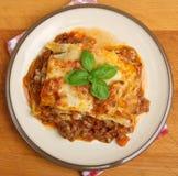 Beef Lasagna stock photos