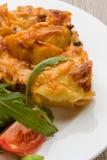 Beef lasagna Royalty Free Stock Photo