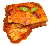 Beef Lasagne Royalty Free Stock Photography