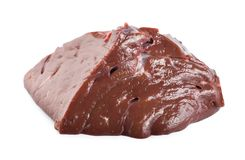 Beef liver Royalty Free Stock Photos