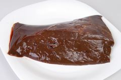 Free Beef Liver Royalty Free Stock Photos - 6004848