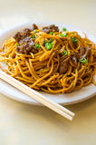 Beef Lo Mein Stock Image
