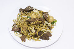 Beef Lo Mein Royalty Free Stock Images