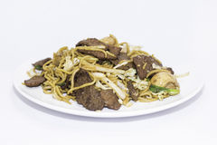 Beef Lo Mein Royalty Free Stock Image