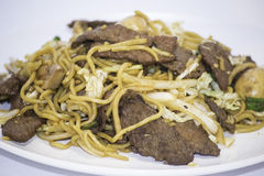 Beef Lo Mein Royalty Free Stock Photography