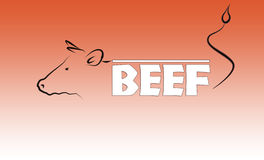 Beef logo Stock Photos