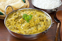 Beef Madras Curry Stock Photo