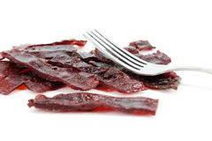 The beef meat dried Royalty Free Stock Image