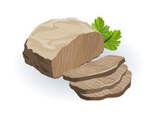 Beef meat illustration Royalty Free Stock Photo