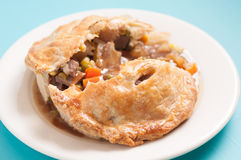beef meat pie Stock Photo