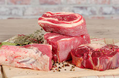 Beef meat for Pot-au-feu Royalty Free Stock Photography