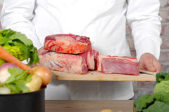 Beef meat for Pot-au-feu Stock Photo