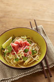 Beef meat rice noodle pho soup Royalty Free Stock Images