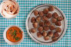 Beef meatballs Stock Photography