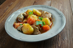 Beef Mechado. Popular tomato sauce-based dish in of Philippine cuisine Stock Photo