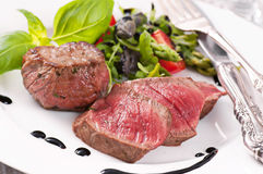 Beef medallions Stock Photo