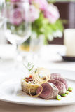 Beef medallions Royalty Free Stock Images