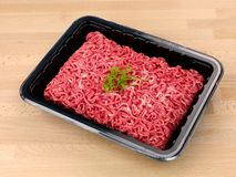 Beef Mince Stock Photo