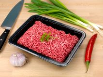 Beef Mince Royalty Free Stock Photos