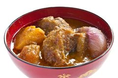 Beef mussaman curry5 Stock Photos